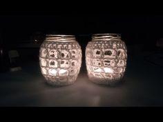 Vol 32 - Crochet Pattern - Mason Jar Cover - YouTube