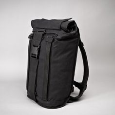 """Arkiv Field Pack From Mission Workshop -linen """"rail"""" system allows for additional """"modules"""" -different methods of carrying -different methods of closure -meant to be element-resistant """"weatherproof"""""""