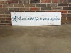 Country Song Lyrics, Country Songs, Music Lyrics, Love Wood Sign, Wood Signs, Die A Happy Man, Easy Decorations, I Love My Hubby, Thomas Rhett