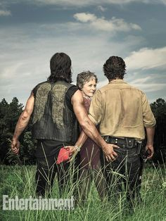 The Walking Dead's Norman Reedus, Andrew Lincoln, And Melissa McBride Cover EW | Comicbook.com
