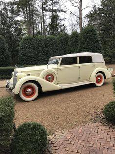 1936 Packard 1402 SUPER 8 4 DR CONVERTIBLE DIETRICH CUSTOM BODY