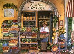 Suzanne Etienne ~ Italian Vendor