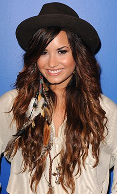 Demi Lavato has the best hair ever. 'nuff said.