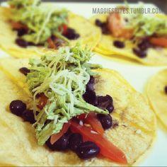 Maggie's Bites - Cilantro Lime Chicken Tacos