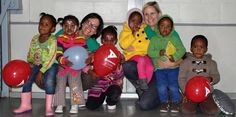 Happy staff members with some of our kids Our Kids, African, Community, Happy, Clothes, Outfit, Clothing, Happiness, Outfits