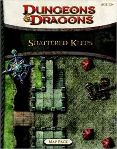 Shattered Keeps Map Pack: A Dungeons & Dragons Accessory: Wizards RPG Team: 9780786960453: Amazon.com: Books