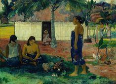 No Te Aha Oe Riri, par Paul Gauguin