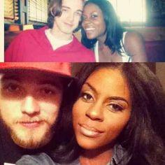 #bwwm #couple #wmbw #cute Natasha and her Robert Pattison look-alike boo, Justin