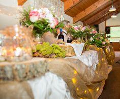 Wedding Venue in Ontario Unique Wedding Venues, Wedding Themes, Wedding Ideas, Summer Wedding, Table Decorations, Home Decor, Wedding Reception Themes, Decoration Home, Room Decor