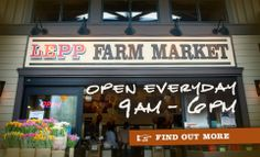 Lepp Farm Market | Abbotsford | BC | Favourite grocery store, especially during the summer months. a daily stop for corn.