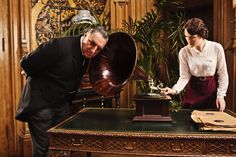 carson, the gramophone, and lady mary