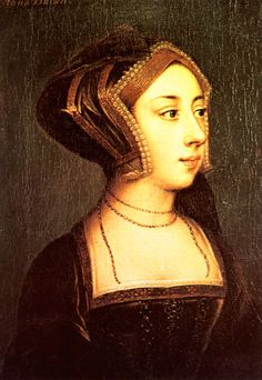 A portrait said to be of Anne Boleyn from Hever Castle.
