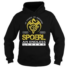 SPOERL An Endless Legend (Dragon) - Last Name, Surname T-Shirt