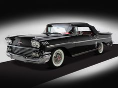 1958 Chevrolet Bel Air Impala 348 super turbo thrust tri power http://classiccarland.com/muscle/12-legendary-chevy-muscle-cars/