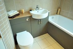 We have an extensive display of Ideal Standard bathrooms in our showrooms, like this Concept suite