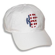 0d1a66df6bd Kappa Kappa Gamma Patriotic Baseball Hat from Sassy Sorority