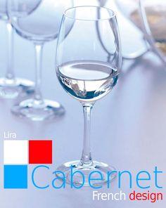 Para degustar los mejores vinos. Cabernet LIRA.   Disfruta de la sutileza del #aroma y del #sabor.  De la colección #Cabernet de #Chef&Sommelier.  Basta con llenar la #copa en su medida ideal para obtener el perfecto grado de #oxigenación necesaria para el #vino. Borde fino. #Kwarx advanced material: #Resistencia, #brillo y #pureza. Disponible desde 2,91€/unidad en http://www.tiendacrisol.com/tienda.php?Id=168