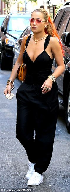 Bra-vo! Rita Ora slipped into more revealing bottoms in New York City on Sunday afternoon...