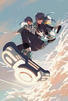 Dramatical Murder - Seragaki Aoba by 悪果 on pixiv Art Manga, Anime Art, Nitro Chiral, Hand To Hand Combat, Dramatical Murder, Cute Anime Character, Fire Emblem Fates, Cute Gay Couples, Anime Sketch