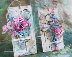 Art_Dorota (Dorota (Kopeć) Kotowicz: Wonderland Card Tags, Gift Tags, Wonder Art, Mixed Media Cards, Birthday Tags, Love Tag, Old Cards, Art Journal Pages, Art Journaling