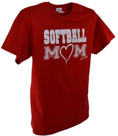 Here is the shirt for all of the supportive Mom's out there cheering their kids and their teams on!!