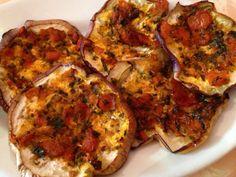 bistecca di melanzane #ricettedisardegna #sardinia #eggplant #recipes #cucina #sarda Sardinia, Quiche, Yummy Food, Eat, Cooking, Breakfast, Places, Gastronomia, Contouring