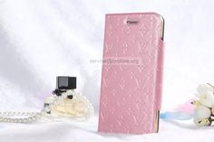 AAA Grade Replica Real Leather Louis Vuitton iPhone 6 Cases Luxury Fashion Louis Vuitton iPhone 6 / 6 Plus Cases Fashion Pics on PicPes Light Pink Convenience