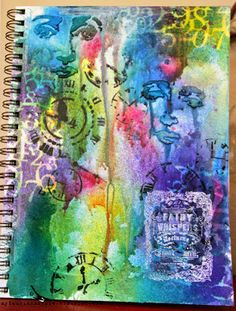 My Laughing Magpie: Fairy Whispers - an Art Journal Page