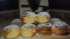 Brioche con vortice di crema (soffice bontà ) | Le delizie di ELY Croissants, Pretzel Bites, Muffins, Cheesecake, Challah, Bread, Flan, Cooking, Breakfast