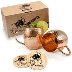 Moscow Mule Copper Mugs - Nozdrovia - 2 Pack - 100% Solid... https://www.amazon.com/dp/B01J0HQ5M0/ref=cm_sw_r_pi_awdb_x_hrbozbSKCW0E2
