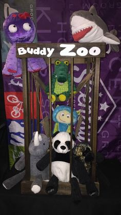 Scentsy Buddy Display -super cute idea for events, or just to store your child's…