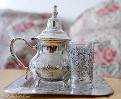 Moroccan teaset for two, apparently they are popular!