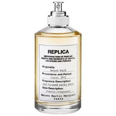 Ah, the beach, I love you so! MAISON MARTIN MARGIELA - 'REPLICA' Beach Walk #sephora