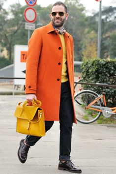 Very nice coat and bag, overall use of colours is good and esp for winter-wear