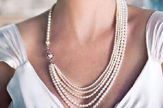 collares para novias de perlas - Buscar con Google