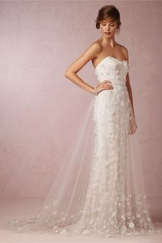 Ava Tulle Skirt by Theia for BHLDN