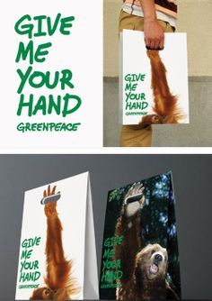 GreenPeace shopping bag