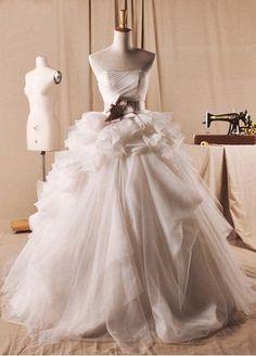Dress from http://www.weodress.com/wedding-dresses/beige-organza-chapel-train-wedding-dress-p-795.html#.UiAG6qywth8