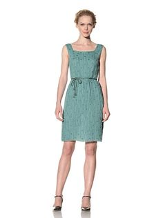 Silk Dress with Squared Neckline by Philosophy di Alberta Ferretti. $318 on MyHabit