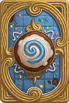 "The Card Backs of Hearthstone - ""Cupcake"""
