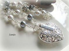 Lumijo-koru - AGNES KAULAKORU - 24,90e Heart Charm, Charmed, Bracelets, Silver, Jewelry, Bangles, Jewellery Making, Jewels, Jewlery