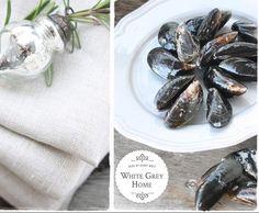 Rezept Miesmuscheln in Weißweinsoße von whitegreyhome blog - Rezept der Kategorie Hauptgerichte mit Fisch & Meeresfrüchten