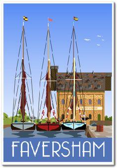 Faversham Creek & Thames Sailing Barges | whiteonesugar.co.uk