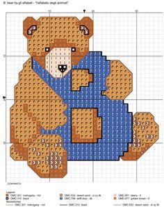 alfabeto degli animali: B: bear
