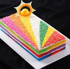 Resep Dan Cara Membuat Rainbow Cake cakepins.com
