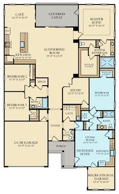 house plans with in law suite \ house plans . house plans one story . house plans with wrap around porch . house plans with in law suite . house plans with basement . Brick House Plans, Large House Plans, Porch House Plans, Open House Plans, Basement House Plans, House Plans One Story, Craftsman House Plans, Dream House Plans, House Floor Plans