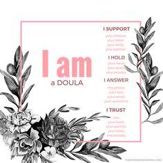 I am a doula...