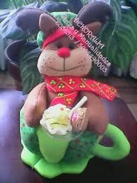 Imagen relacionada Reno, Bowser, Projects To Try, Teddy Bear, Christmas Ornaments, Holiday Decor, Character, Chocolates, Google