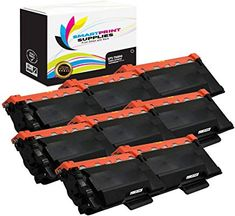 Smart Print Supplies Super High Yield Compatible Replacement Toner Cartridge 8 Pack Corresponding OEM Number: / Page Yield: copies @ coverage Printer Compatibility: Brother Box Contents: Eight Super High Yield replacement toner cartridges. Printer Scanner, Laser Printer, Color Of Life, Toner Cartridge, Colour Images, Brother, Contents, Oem, Number