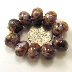 EDJ-ROYAL-VINEYARD-Handmade-Glass-Lampwork-Beads-USA-SRA-Artist-Teresa-Turner